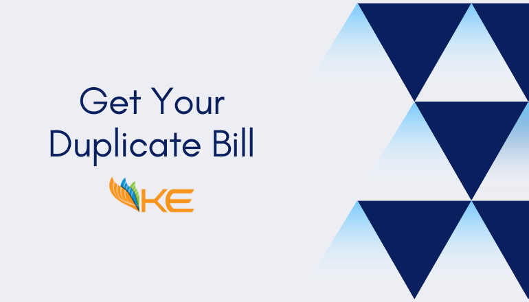 A Guide on: How to Get K-Electric Duplicate Bill Online